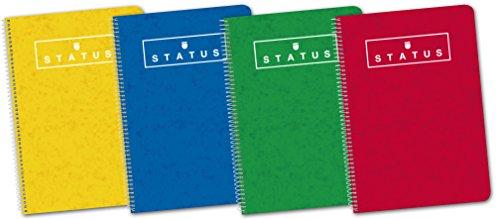 5 Cuadernos 80 hojas solo 2.6€