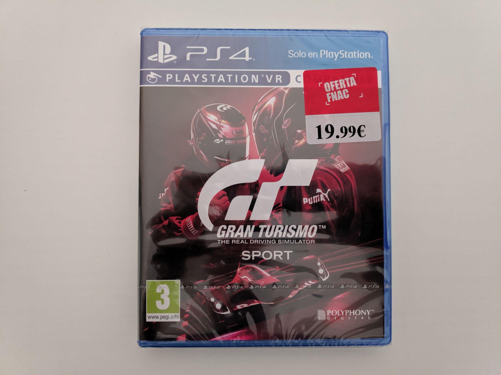 Gran Turismo sport spec II PS4.
