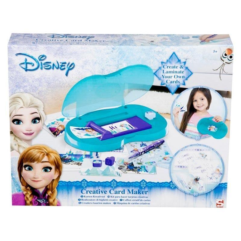 Fábrica de tarjetas Frozen