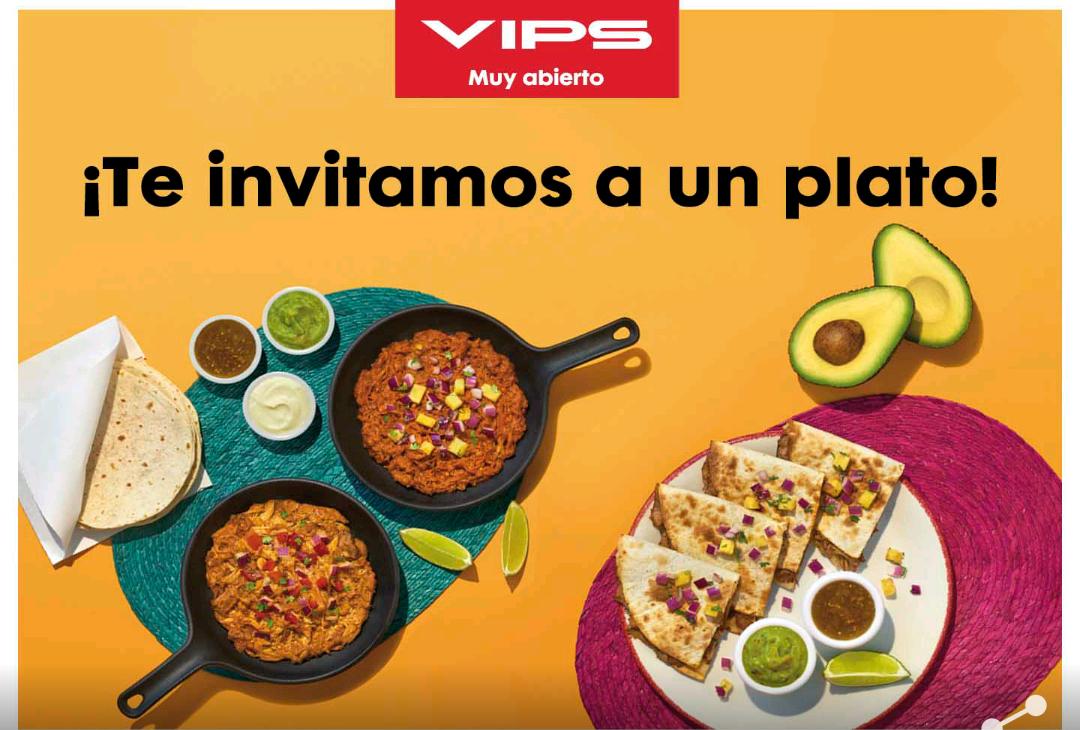 Vips y Vips smart te invitan a un plato