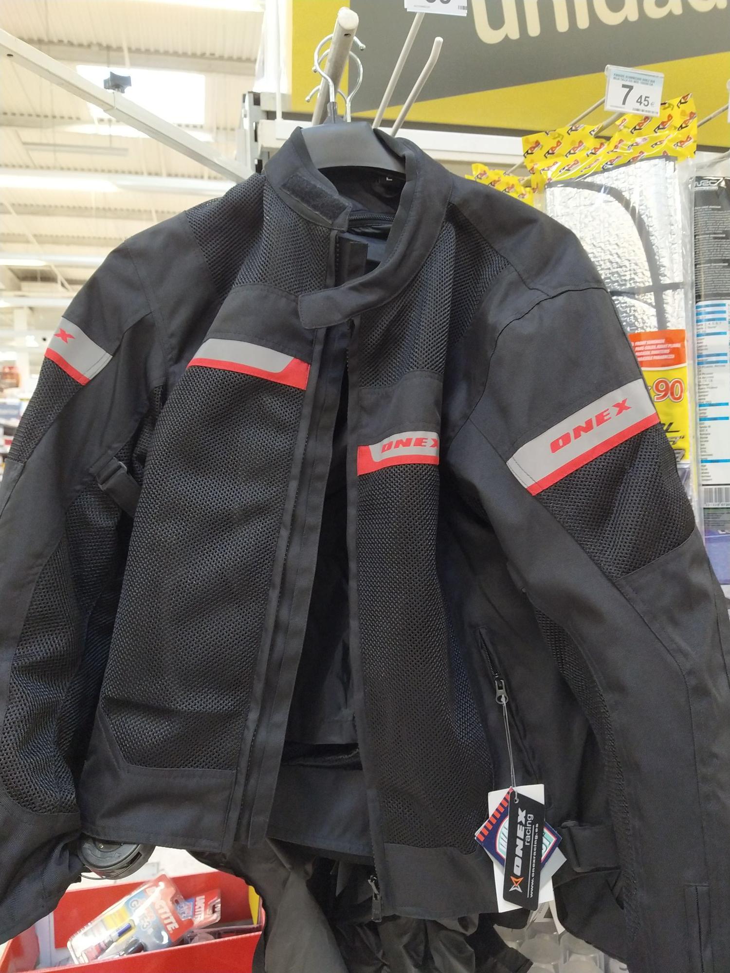 Chaqueta moto verano (Carrefour)