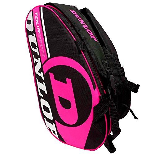 Paletero de pádel Dunlop Tour Intro Negro / Rosa Flúor de Dunlop
