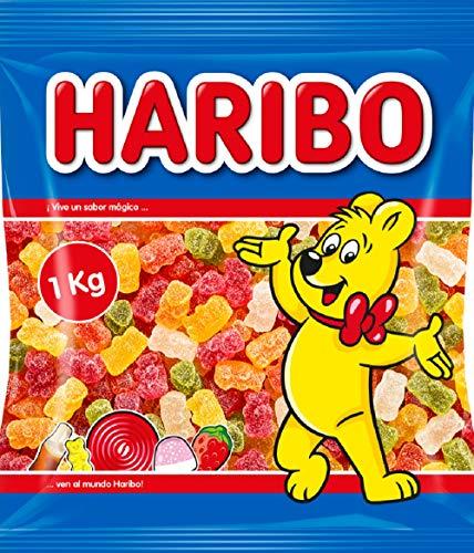 Haribo: Ositos de azúcar - 12 paquetes de 1kg cada uno