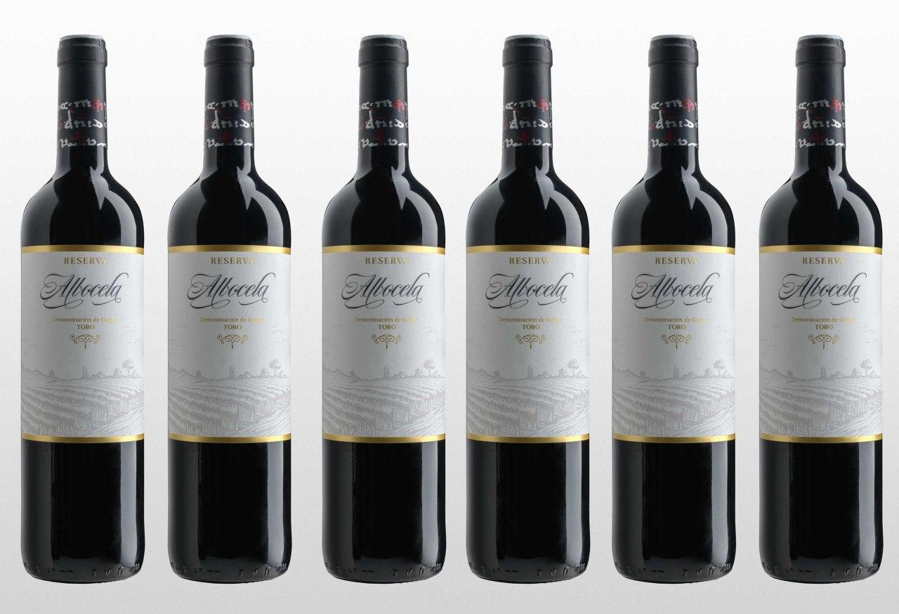 6x Botellas de Vino Albocela Reserva 2007 solo 19.9€