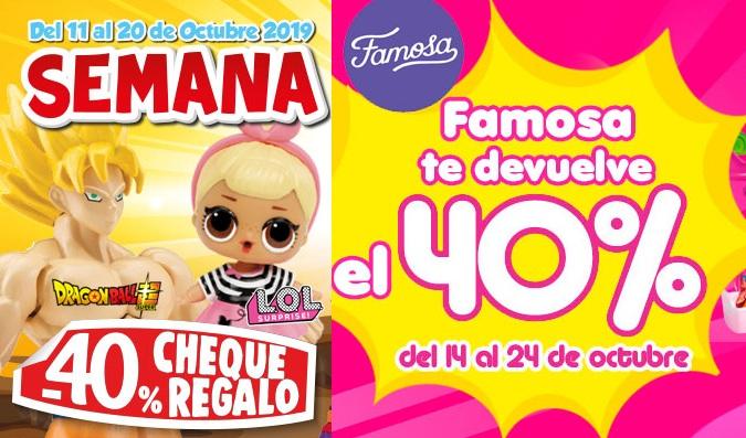 Pinypon 40% Reembolso+40% cheque regalo Juguetilandia-FAMOSA