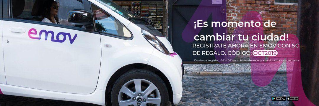 Emov alta gratis + 5€