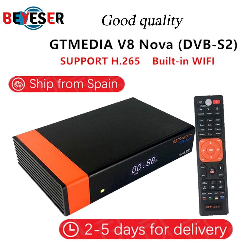 Receptor de satelite Gtmedia V8 NOVA