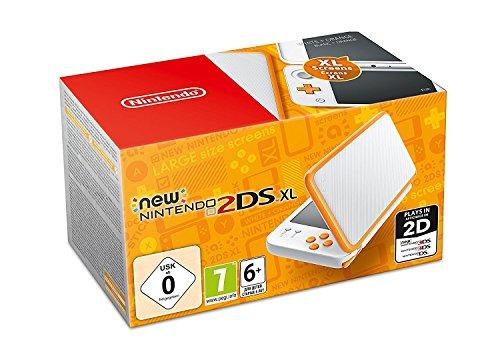 Nintendo 2DS XL naranja - blanca 99.9€