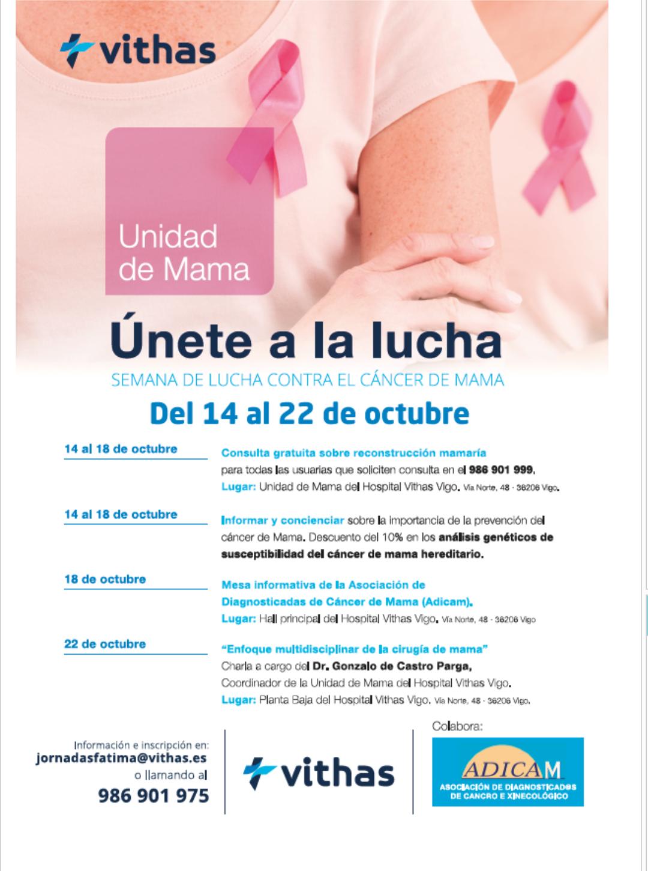 Consulta Gratuita Reconstrucción Cáncer mama (Vigo)