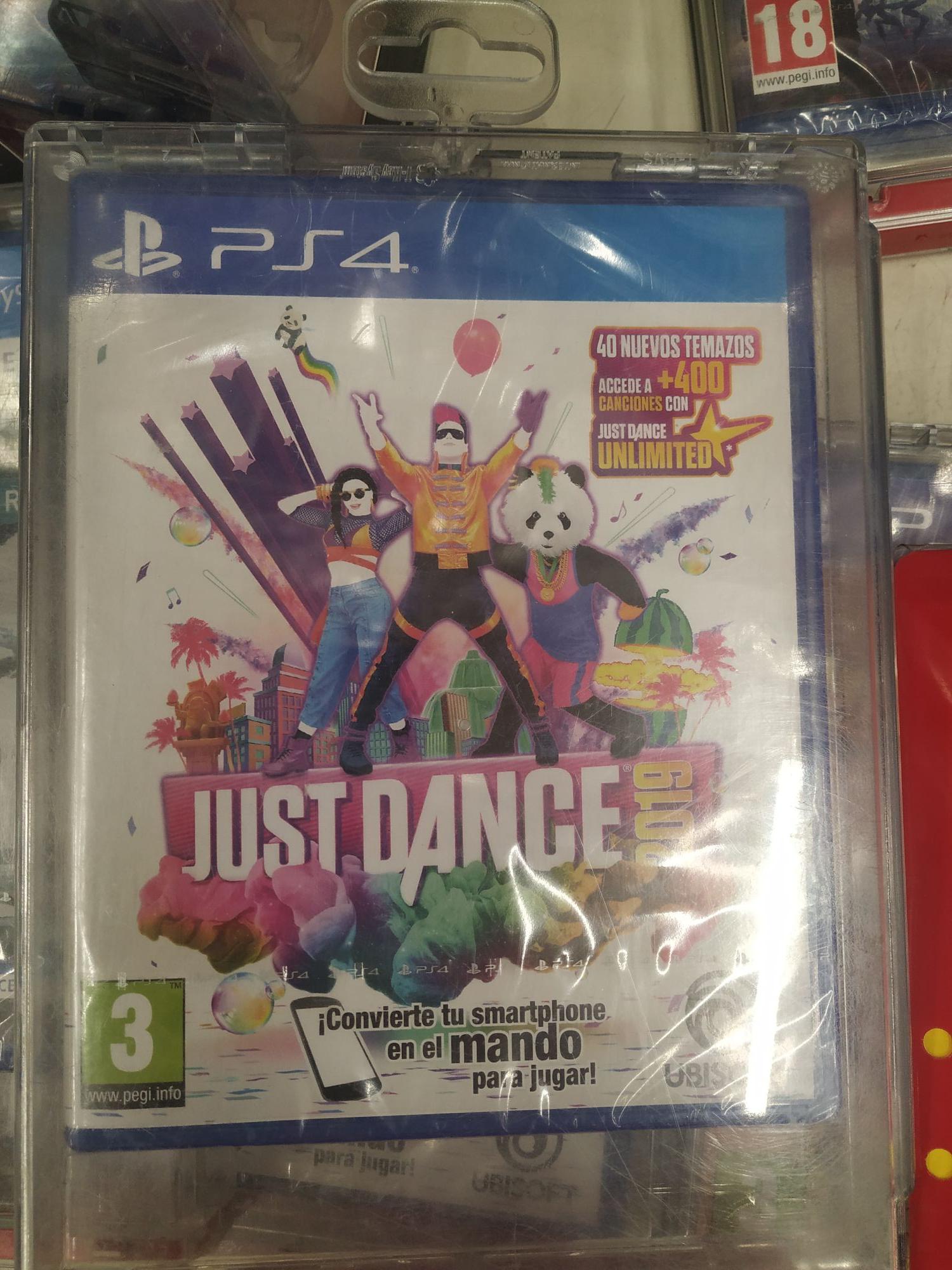 Just dance PS4 , alcampo, sevilla
