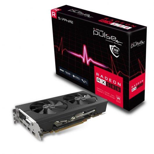 Sapphire Pulse Radeon RX 580 8GB GDDR5. REACONDICIONADO
