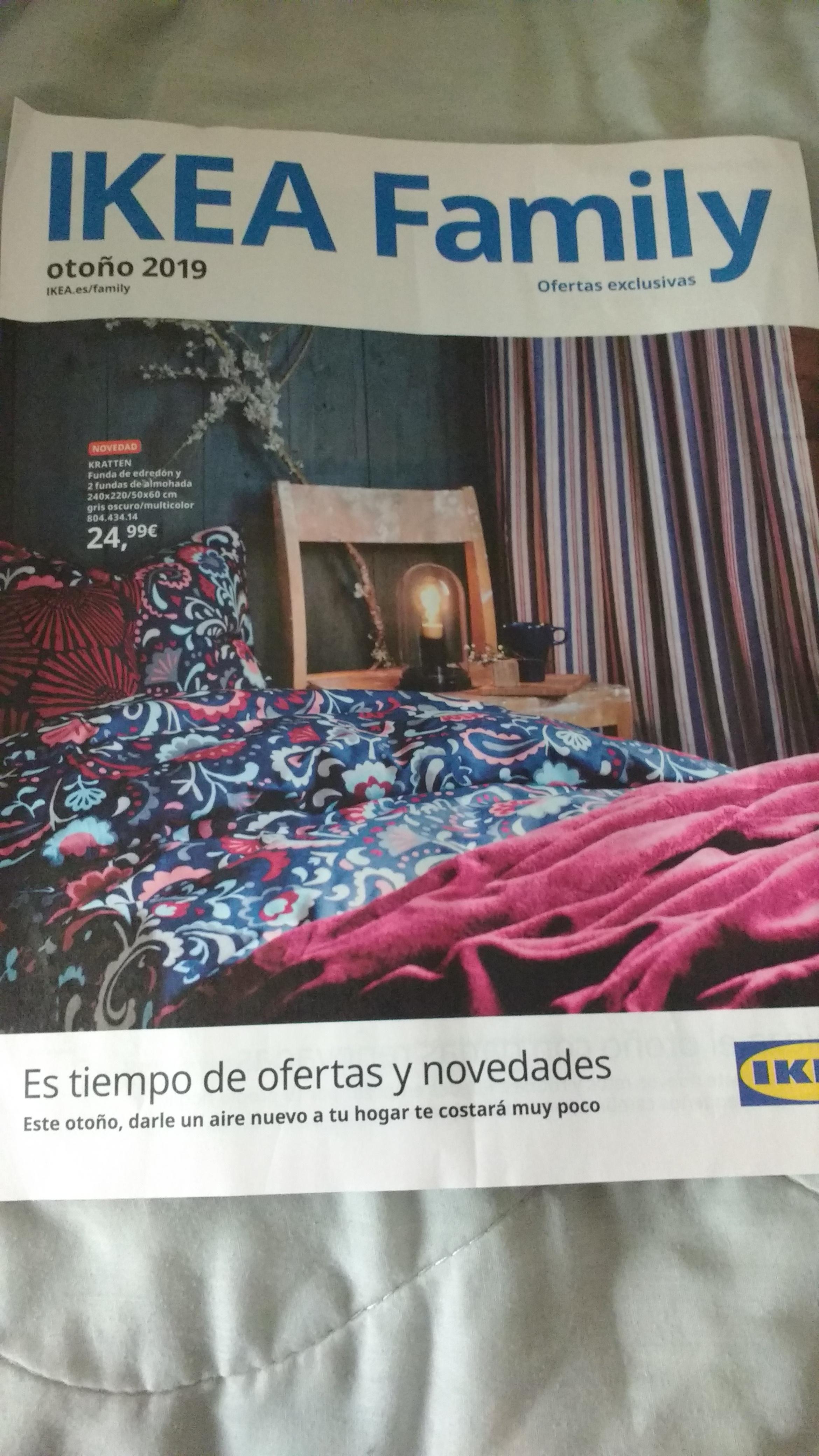 Nuevos descuentos otoño con tarjeta Ikea family