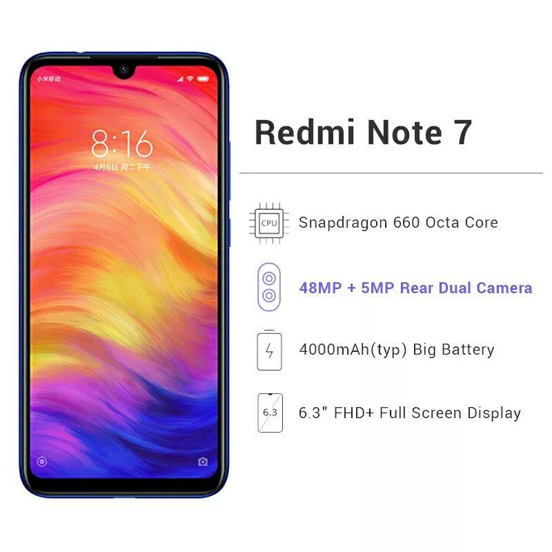 Xiaomi Redmi note 7 - 4/64GB a preciazo!!!