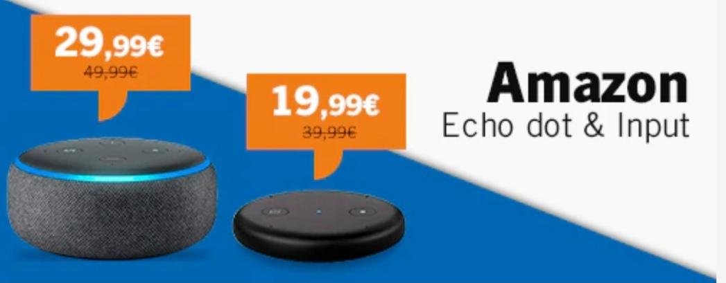 Thephonehouse Echo Dot & Input