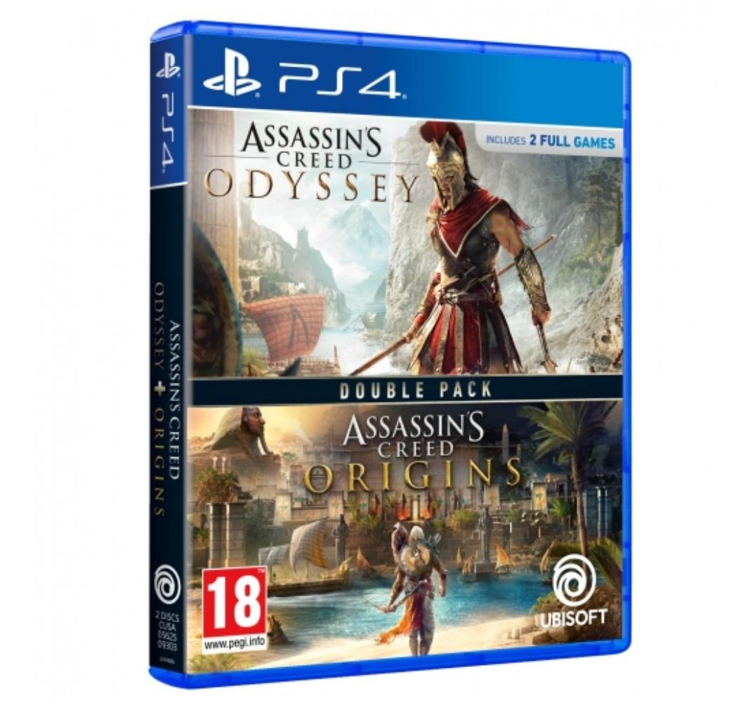 PS4 Assassin's Creed Odyssey + Assassin's Creed Origins Solo 18.99 cada uno!