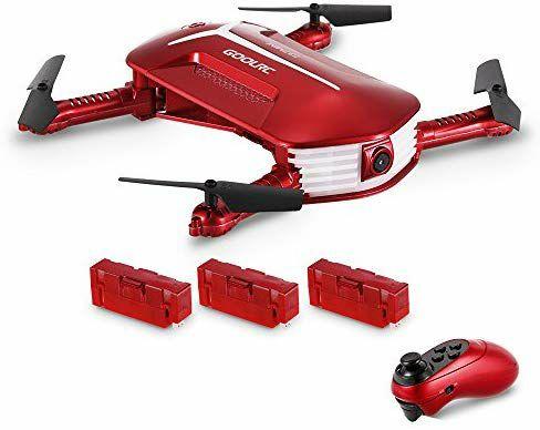 Drone GoolRC T37 Mini Cámara 720p+3 baterías