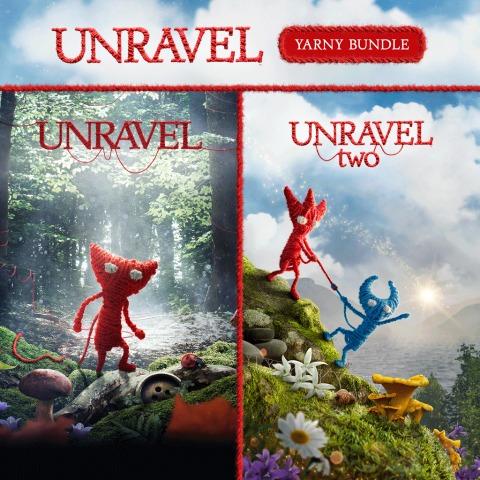 Unravel por 4,99€ / Unravel 2 por 6,99€ / Unravel Yarny por 9,99€