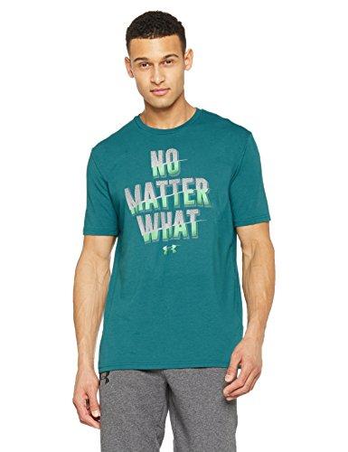 Under Armour No Matter What SS Camiseta de Manga Corta, Hombre Talla L
