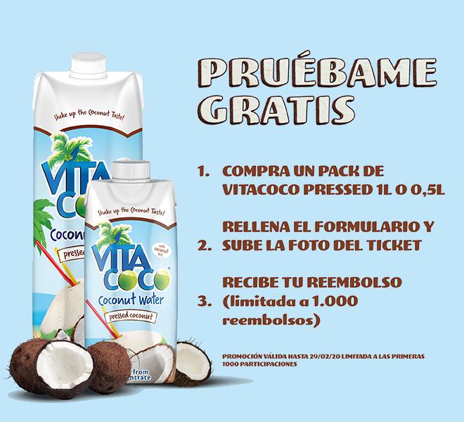 REEMBOLSO VITA COCO PRESSED