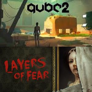 Juegos Gratuito Epic Games: Q.U.B.E.2 y Layers of fear