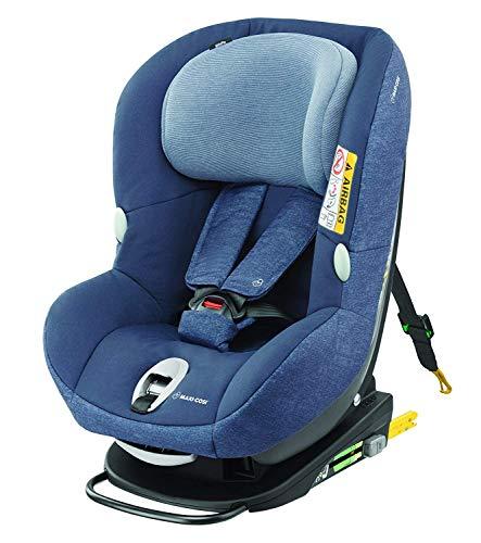 maxi-cosi milofix – reboarder Niños Asiento, grupo 0 +/1 (0 – 18 kg), asiento infantil para coche con Isofix azul Nomad Blue