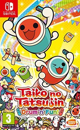 Taiko No Tatsujin: Drum'n'Fun para Switch