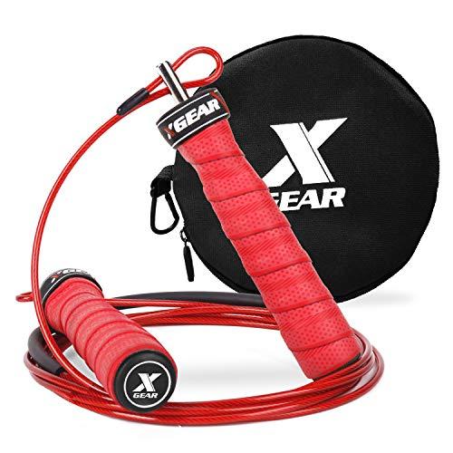 Entrenamiento - Cuerda de alta velocidad con Rodamientos de Bolas, Ajustable. Crossfit, boxeo, etc