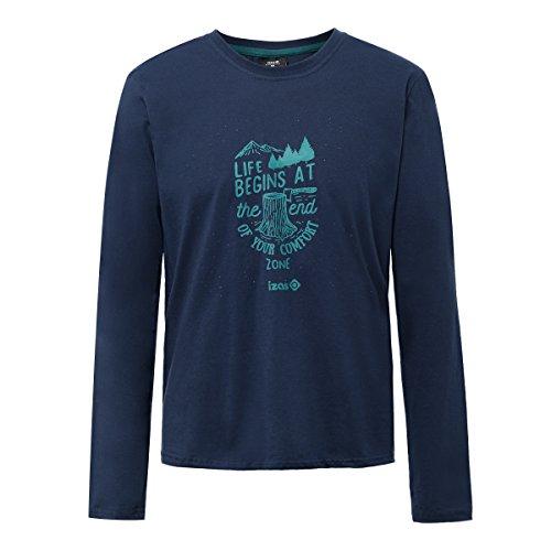 Izas Arosa Camiseta algodón, Hombre Talla S (1 en Stock)