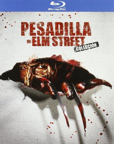 Saga completa Pesadilla en Elm Street 7 películas en español Blu-ray