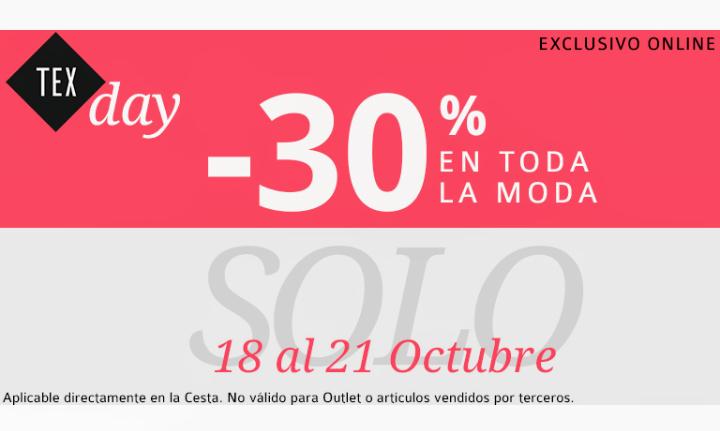 TexDay en Carrefour (todo con 30% de descuento)