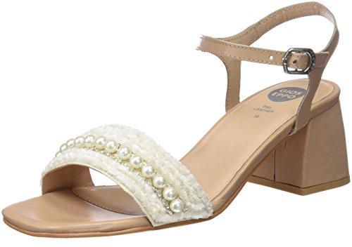 Gioseppo 45342, Zapatos de tacón con Punta Abierta para Mujer Talla 39 (1 en Stock)