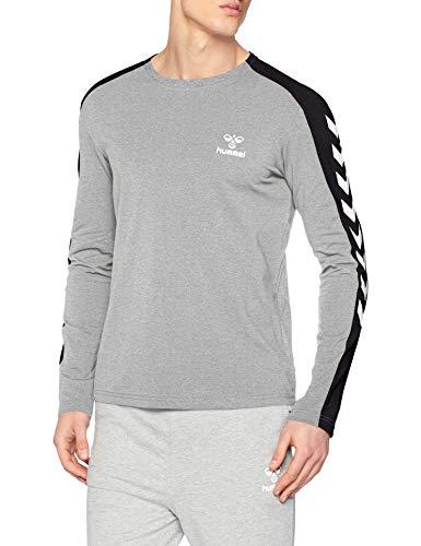 Hummel Hmlflint Camiseta de Manga Larga, Hombre Talla XL