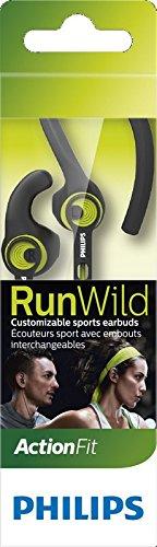 Auriculares deportivos Philips SHQ1400CL/00 (Cable reforzado Kevlar e IPX4)