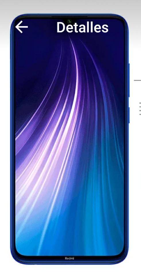 Xiaomi redmi note 8 global version, cupón de vendedor y aplicamos cupón descuento.