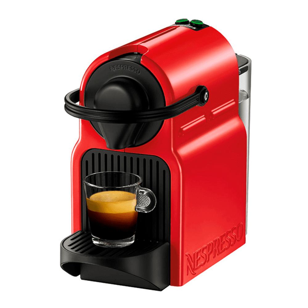 Krups Inissia Ruby Roja Nespresso al comprar 300 cápsulas