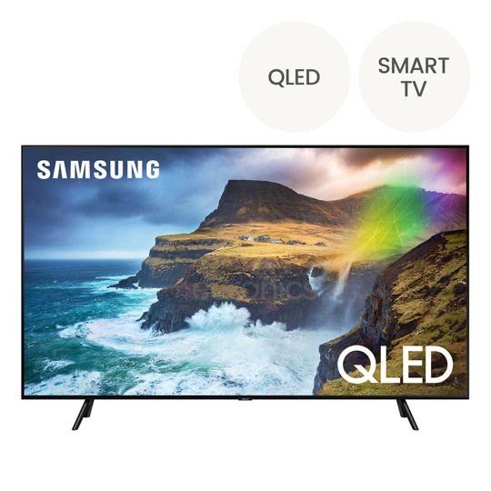 """SAMSUNG Televisor Qled - 4K - Smart Tv QE55Q70RATXXH Negro 55"""""""