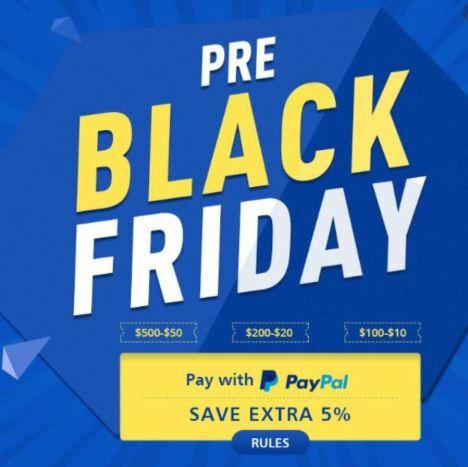 Hasta un 15% en Geekbuying al pagar con PayPal