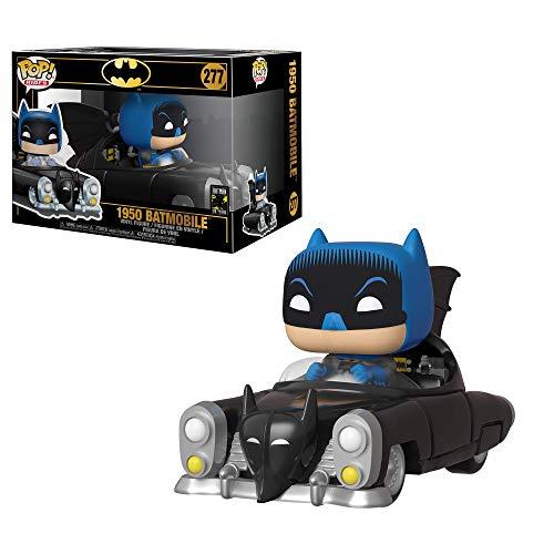 Figura Funko Pop Batman con batmóvil