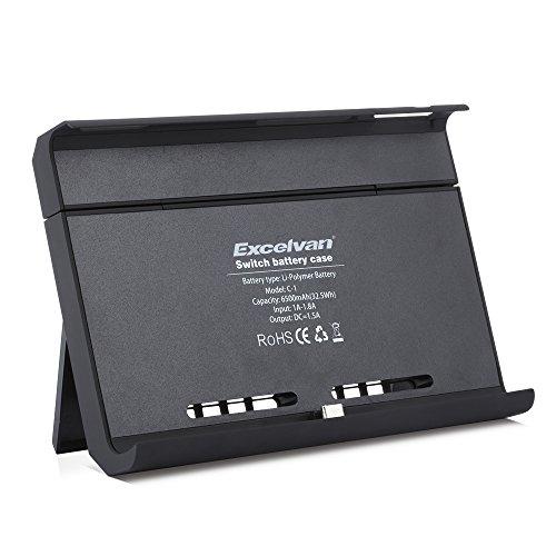 Batería Externa para Nintendo Switch, Power Bank de 6500mAh