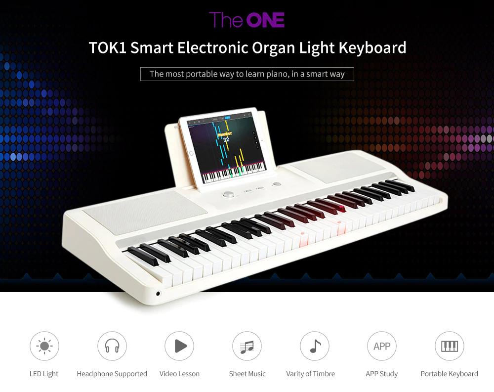 Xiaomi TheOne Smart Keyboard, piano inteligente para principiantes .