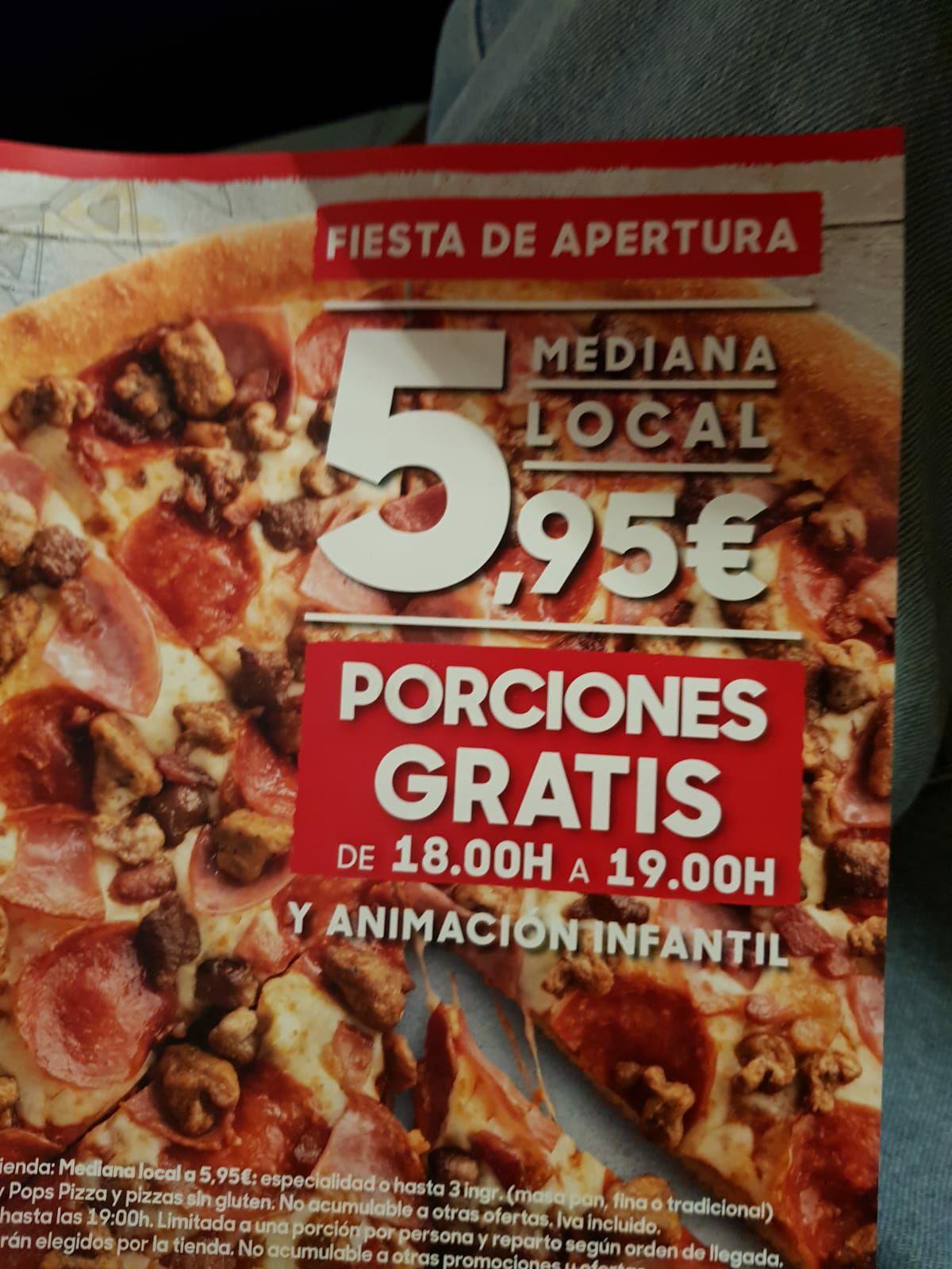 Pizza Hut en Valencia. Pizza gratis por inauguración y oferta de pizzas.
