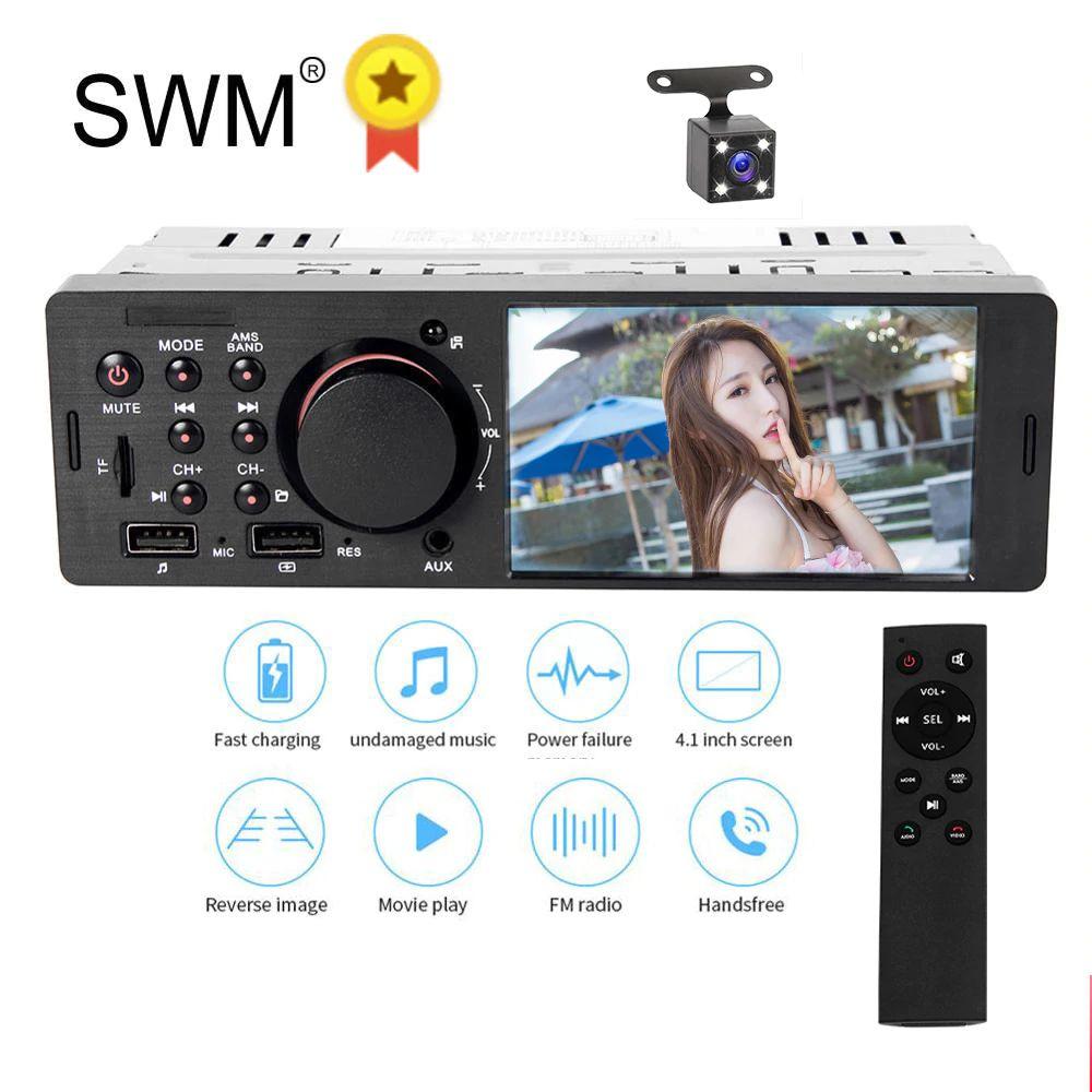 AliExpress: estéreo para coche Bluetooth con cámara de reversa