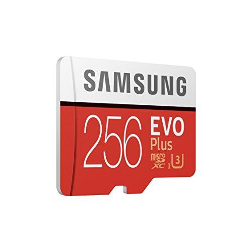 Samsung EVO Plus -MicroSD de 256 GB con Adaptador SD 100 MB/s