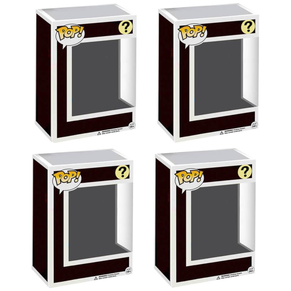 Pack Misterioso de 4 Figuras Funko Pop!
