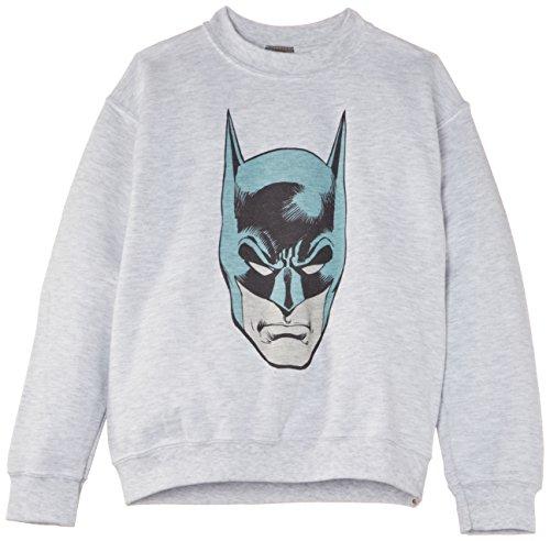 TALLA 12-13 Años - DC Comics Official Batman Head - Sudadera Niños (1 en Stock)