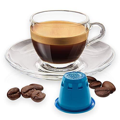 Note D'Espresso - Cápsulas (caja de 100 unidades) de café de Nicaragua compatibles con cafeteras Nespresso, 5,6 g
