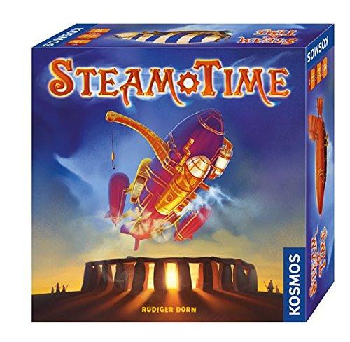 Juego de mesa Kosmos Steam time [Aleman]