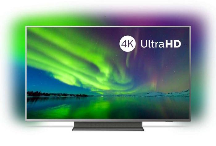 Philips 55PUS7504/12 - Android TV, Ambilight, 4K, HDR10+, Bluetooth, Control por voz...