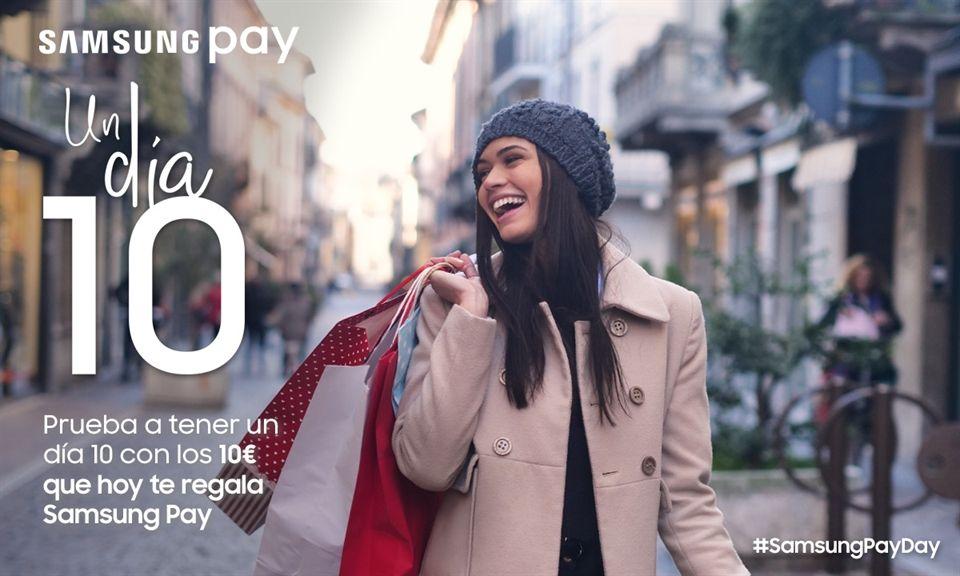 10 euros gratis Samsung pay