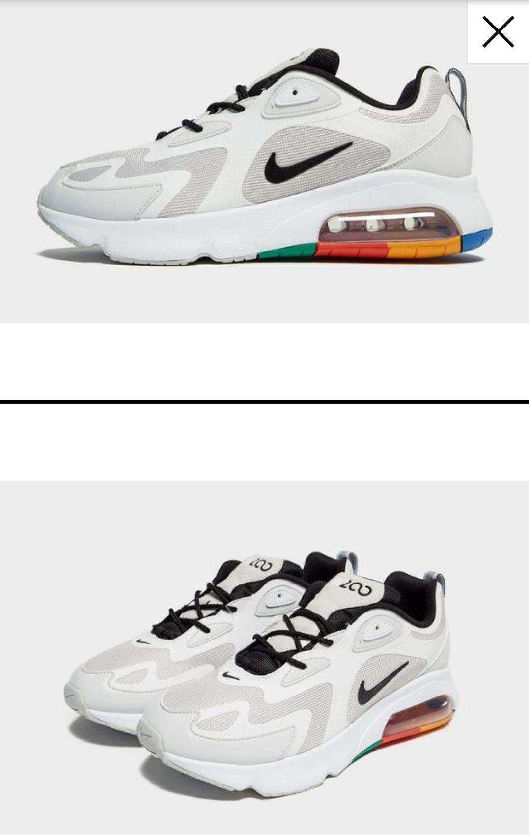 Nike Air Max 200 (Blancas)